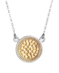 Anna Beck - 'gili' Reversible Disc Pendant Necklace - Lyst