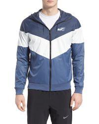 e5e50fb790c2 Nike - Windrunner Wind   Water Repellent Hooded Jacket - Lyst