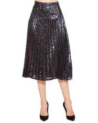 Parker - Citrine Sequined Skirt - Lyst