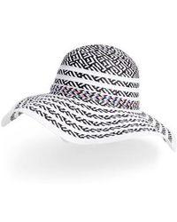 Steve Madden - Beach Party Floppy Hat - Lyst