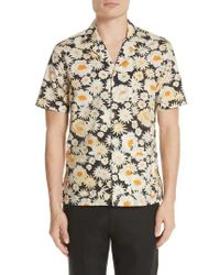 Burberry - Jude Floral Print Shirt - Lyst