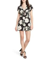 Soprano - Knotted Romper - Lyst