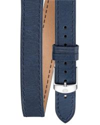 Michele - 16mm Leather Watch Strap - Lyst
