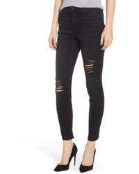 Vigoss - Marley Ripped Skinny Jeans - Lyst