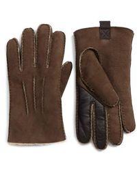 Ugg | Ugg Smart Sheepskin Shearling Leather Gloves | Lyst