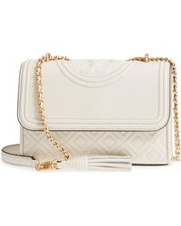 Tory Burch - Small Fleming Leather Convertible Shoulder Bag - - Lyst