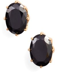 Kate Spade - Shine On Oval Stud Earrings - Lyst