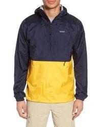 Patagonia - Torrentshell Packable Regular Fit Rain Jacket - Lyst