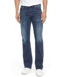913ad243 DIESEL Diesel Zathan 74w Bootcut Jean in Blue for Men - Lyst