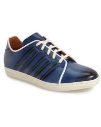 Mezlan   Balboa Leather Sneakers   Lyst