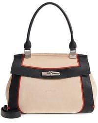 Longchamp - Madeleine Colorblock Leather Satchel - - Lyst