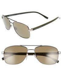 BOSS - '0762/s' 58mm Polarized Navigator Sunglasses - - Lyst