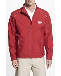 Cutter & Buck - 'kansas City Chiefs - Beacon' Weathertec Wind & Water Resistant Jacket - Lyst
