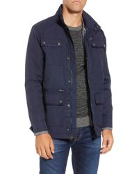 W.r.k. - 'ethan' 3-in-1 Field Jacket - Lyst