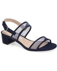 Nina - Ganice Mesh Strap Sandal - Lyst