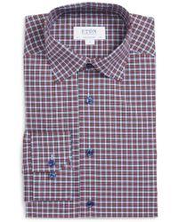 Eton of Sweden - Contemporary Fit Plaid Dress Shirt - Lyst