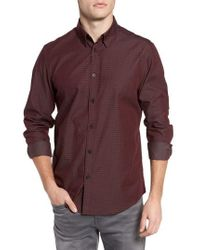 Ben Sherman - Dobby Checkerboard Woven Shirt - Lyst