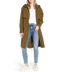 Kenneth Cole - Hooded Parka - Lyst