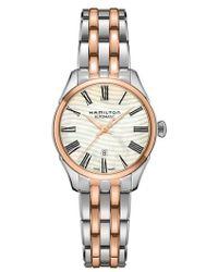 Hamilton - Hamiton Jazzmaster Automatic Bracelet Watch - Lyst
