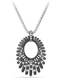 David Yurman - 'tempo' Necklace With Diamonds - Lyst