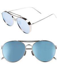 e2306efd1b Lyst - Gentle monster Silver Big Bully Sunglasses in Metallic