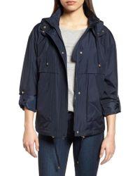 Kensie - Hooded Water Resistant Jacket - Lyst
