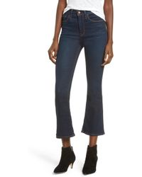 Hudson Jeans - Holly High Waist Crop Flare Jeans - Lyst