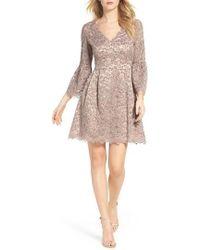 Eliza J | Lace Fit & Flare Dress | Lyst