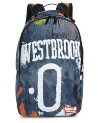 c5423ae71 Sprayground Villain Bear Print Backpack - in Blue for Men - Lyst