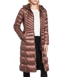 Bernardo - Lust Long Puffer Coat - Lyst