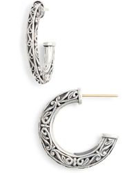 Konstantino - Filigree Hoop Earrings - Lyst