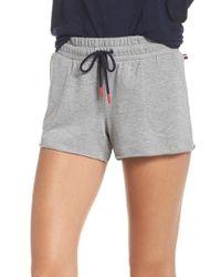 Tommy Hilfiger - Raw Edge Pajama Shorts - Lyst