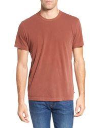 James Perse | Crewneck Jersey T-shirt | Lyst