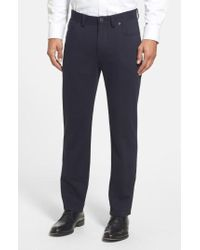 Vince Camuto - Sraight Leg Five Pocket Stretch Pants - Lyst