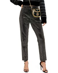 TOPSHOP - Pinstud Mom Jeans - Lyst