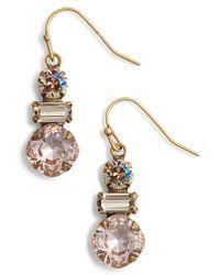 Sorrelli - Dianella Crystal Drop Earrings - Lyst