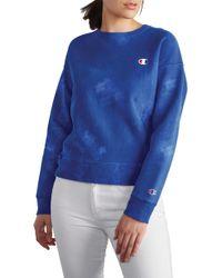 Champion - Garment Dyed Sweatshirt - Lyst