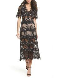 Foxiedox - Sweetwater Stripe Midi Dress - Lyst