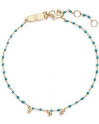 Argento Vivo - Beaded Enamel Sphere Charm Bracelet - Lyst