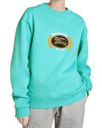 Burberry - Vintage Crest Sweatshirt - Lyst