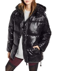 Ivy Park - Glossy Puffer Coat - Lyst