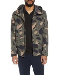 Theory - Wright Delfine Hooded Jacket - Lyst
