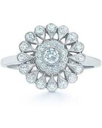 Kwiat - Vintage Flower Diamond Ring - Lyst