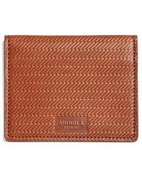 Shinola - Id Card Wallet - Lyst