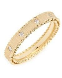 Roberto Coin - Diamond Princess Ring - Lyst