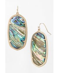 Kendra Scott - Danielle - Large Oval Statement Earrings - Lyst