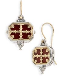 Konstantino - Sterling Carnelian Earrings - Lyst