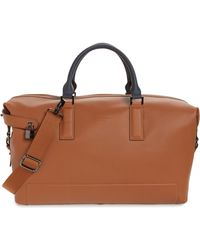 Ted Baker - Potts Leather Duffel Bag - Lyst