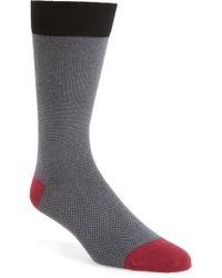 Ted Baker - Joaquim Solid Socks - Lyst