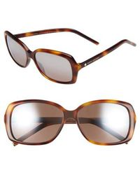 Marc By Marc Jacobs - Marc Jacobs 57mm Sunglasses - Havana - Lyst